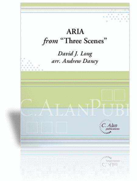 Aria from 'Three Scenes'