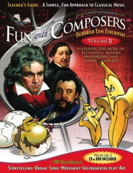 Fun With Composers Volume II - Teacher's Guide (Pre K - Gr. 3)