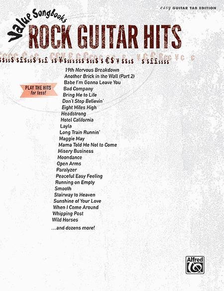 Rock Guitar Hits