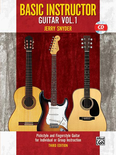 Basic Instructor Guitar, Book 1