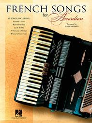 French Songs For Accordion Sheet Music By Various - Sheet Music Plus