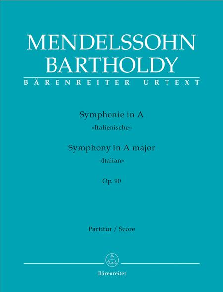 Symphony A major, Op. 90 'Italian'