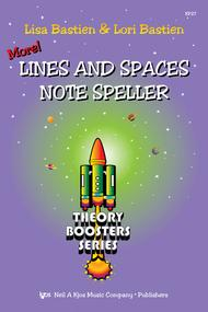 Bastien Theory Boosters: More Lines and Spaces Note Speller