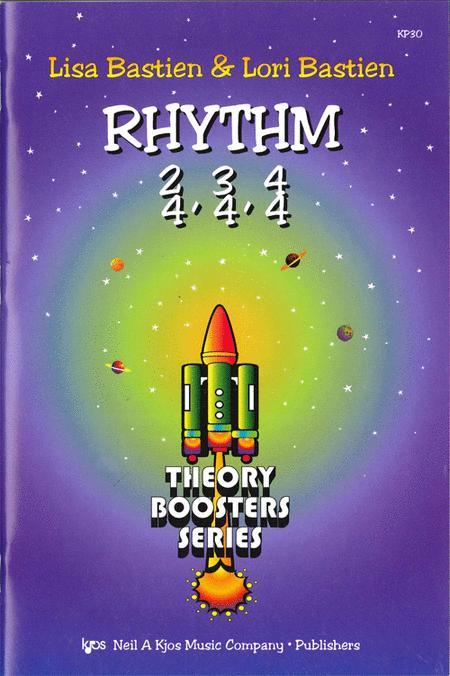 Bastien Theory Boosters: Rhythm 2/4, 3/4, 4/4