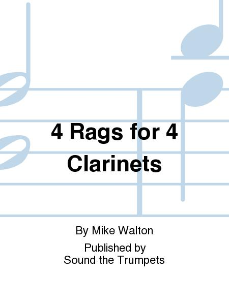 4 Rags for 4 Clarinets