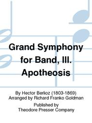 Grand Symphony for Band, III. Apotheosis