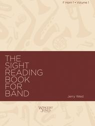 Sight Reading Book for Band, Vol. 1 - F Horn 1