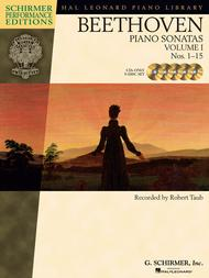 Beethoven - Piano Sonatas, Volume I - CDs Only (set of 5)
