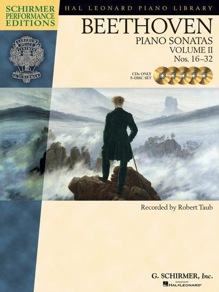 Beethoven - Piano Sonatas, Volume II - CDs Only (set of 5)