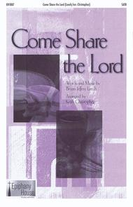 Come Share the Lord - Accompaniment CD