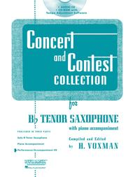 Concert and Contest Collection for Bb Tenor Saxophone