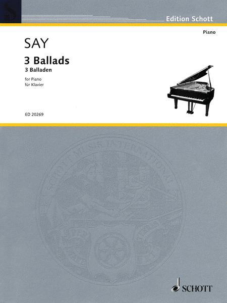 3 Ballads op. 12