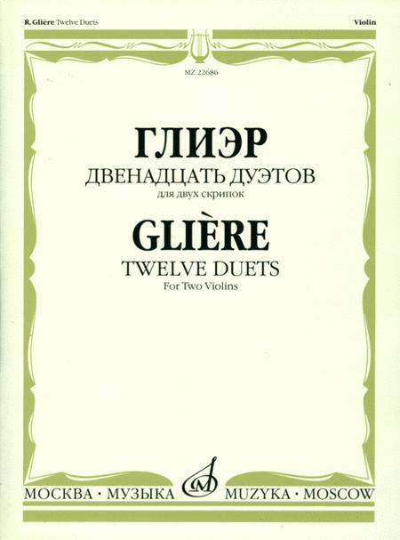 Twelve duets for two violins