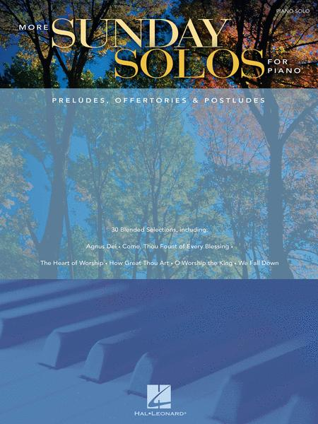 More Sunday Solos for Piano