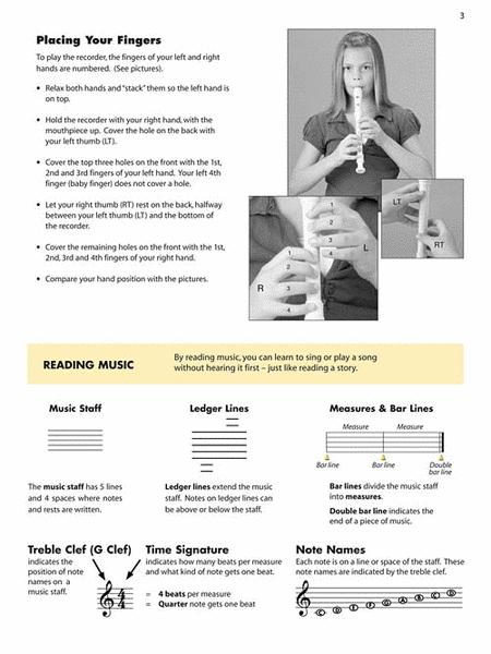 Essential Elements Recorder Classroom Method (Student Book