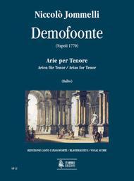 Demofoonte. Arias for Tenor