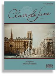 Debussy's Clair de Lune for Alto Saxophone & Piano