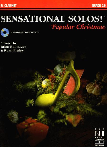 Sensational Solos! Popular Christmas, B-flat Clarinet