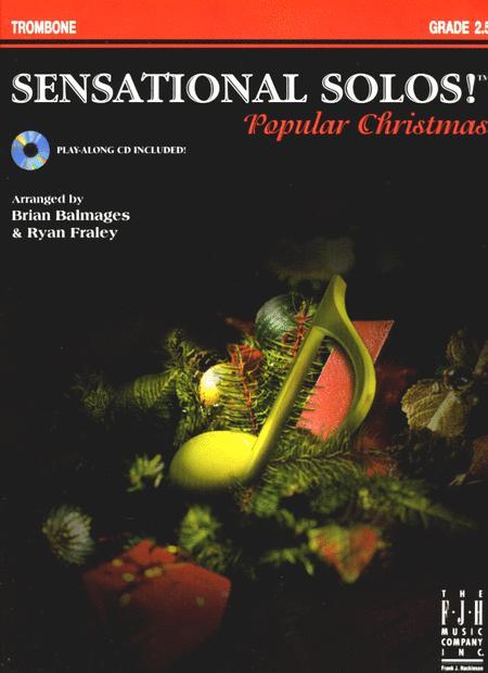 Sensational Solos! Popular Christmas, Trombone