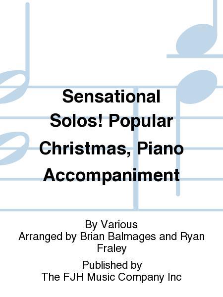 Sensational Solos! Popular Christmas, Piano Accompaniment