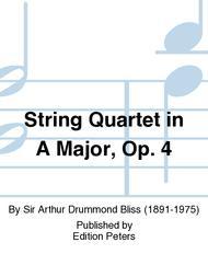 String Quartet in A Major, Op. 4