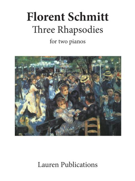 Three Rhapsodies for two pianos