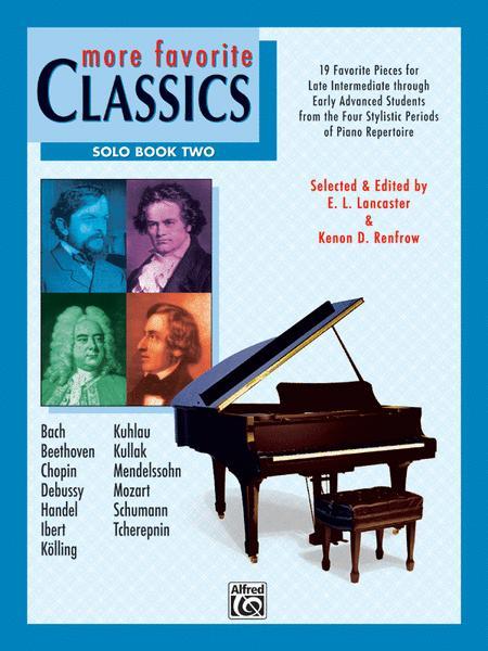 More Favorite Classics -- Solo, Book 2