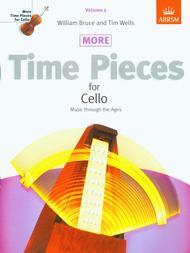 More Time Pieces for Cello, Volume 1