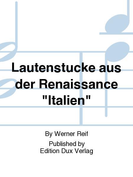 Lautenstucke aus der Renaissance