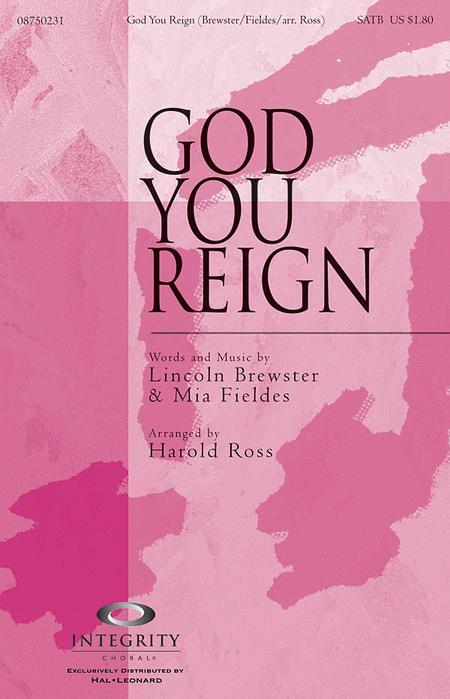 God You Reign - Accompaniment CD