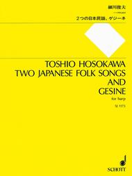 Two Japanese Folk Songs And Gesine