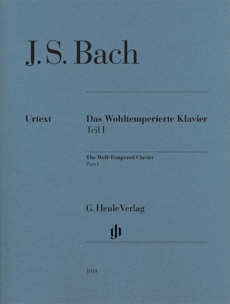 The Well-tempered Clavier, Part I - BWV 846-869 (no Fingering)