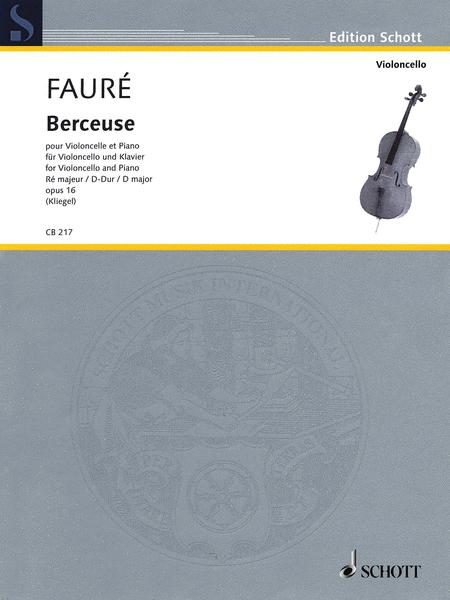 Berceuse D major op. 16