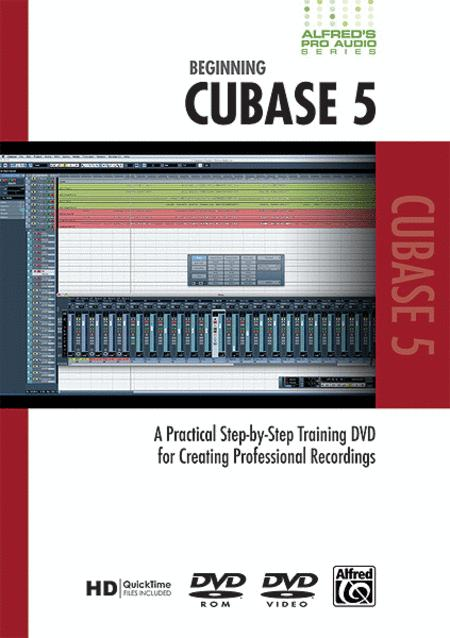 Alfred's Pro Audio -- Cubase