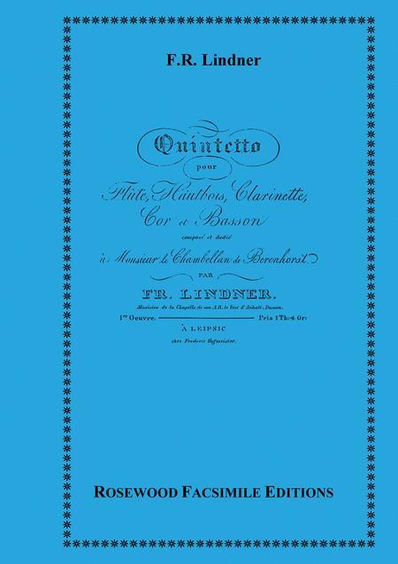 Wind Quintet, Op. 1