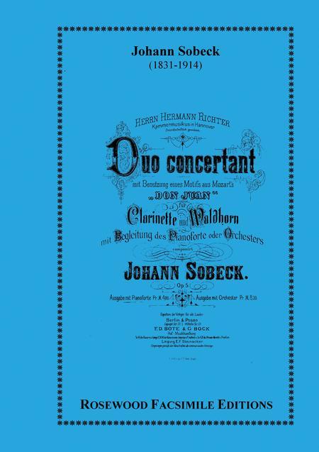 Duo Concertante, Op. 5
