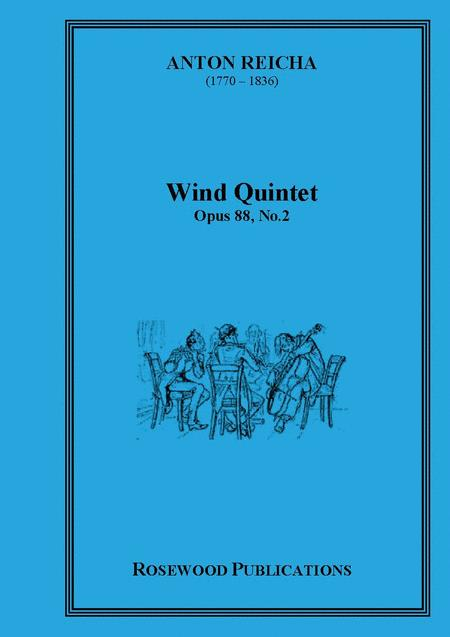 Wind Quintet, Op. 88, No. 2