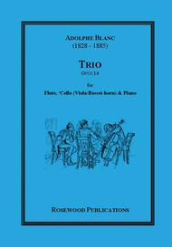 Trio, Op. 14