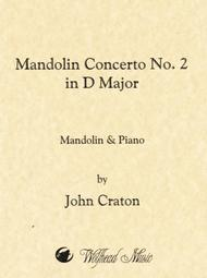 Mandolin Concerto No. 2 in D Major
