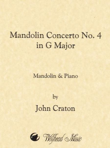 Mandolin Concerto No. 4 in G Major