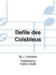 Defile des Colsbleus
