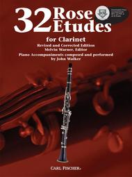 Rose 32 Etudes for Clarinet