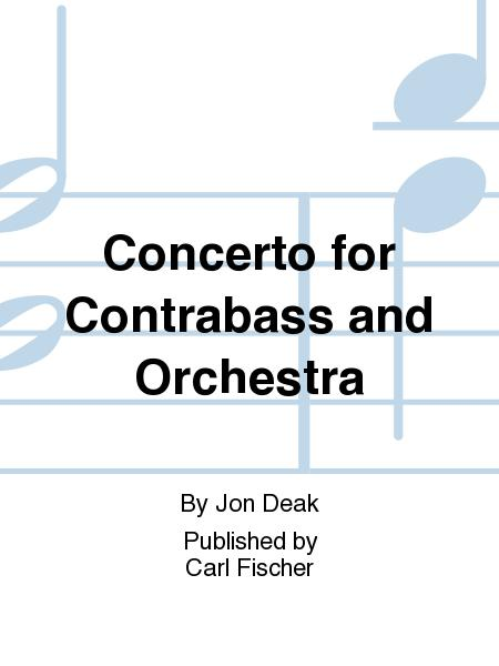 Concerto For Contrabass And Orchestra