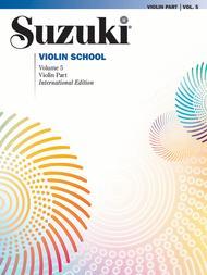 Suzuki Violin School, Volume 5 - Violin Part