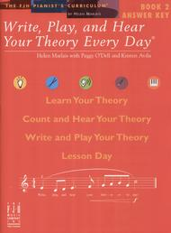 Write, Play, and Hear Your Theory Every Day Answer Key, Book 2