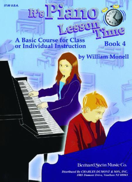 It's Piano Lesson Time Book 4