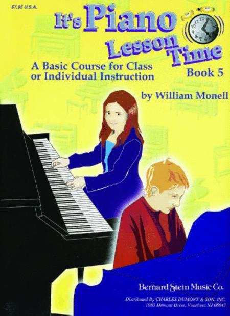 It's Piano Lesson Time Book 5