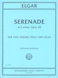 Serenade in E minor, Opus 20