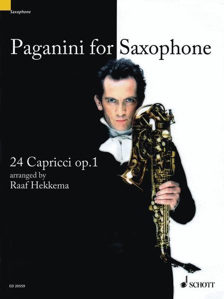 Paganini for Saxophone op. 1