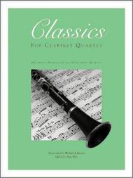 Classics For Clarinet Quartet, Volume 2 - Full Score (with CD)